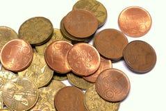 Coroas de Checo das moedas Imagens de Stock Royalty Free
