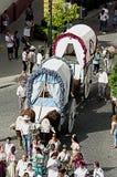 Coroczny świętowanie patron w Carmona 34 Obrazy Royalty Free