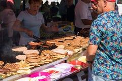 Coroczny Leskovac grilla festiwal Obrazy Stock