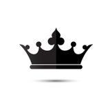 Coroe o símbolo, meus pêsames mais profundos de deixar o rei de thailan Fotografia de Stock Royalty Free