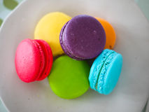 Corolful macaroons Obrazy Royalty Free