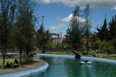 corolina厄瓜多尔公园基多 库存照片