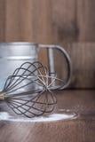 Corolla żelazo, stalowa filiżanka, przyrząda obrazy royalty free