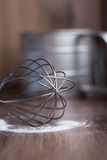 Corolla żelazo, stalowa filiżanka, przyrząda Fotografia Stock