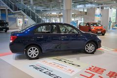 2017 Corolla-auto japan royalty-vrije stock afbeelding