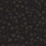 Corolla dill flower seamless pattern Stock Photography