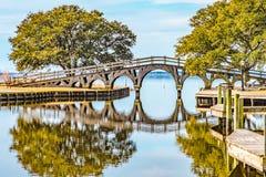 Corolla-Parkbrug stock fotografie