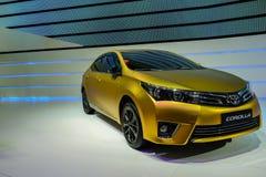 Corolla von Toyota, 2014 CDMS Stockfotos