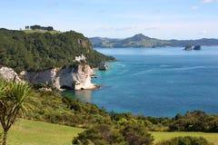 Coromandel. Beautiful sea bay at Coromandel peninsula. New Zealand, North Island Stock Photography