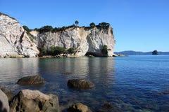 Coromandel. Stingray Bay at Coromandel peninsula. New Zealand, North Island Royalty Free Stock Image