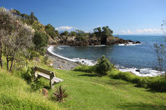 Coromandel Coast. A view of the Coromandel Peninsular coast, New Zealand Royalty Free Stock Images