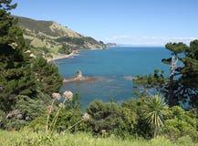 Coromandel Coast. A view of the Coromandel Peninsular west coast, New Zealand Royalty Free Stock Images
