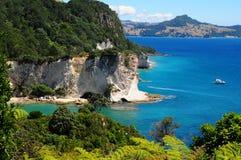 Coromandel. Coast of the Coromandel peninsula. New Zealand Stock Photography