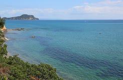 Coromandel Harbour. Landscape in Coromandel peninsula, New Zealand Royalty Free Stock Images