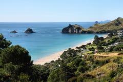 Coromandel, New Zealand. Hahei Beach in Coromandel peninsula. New Zealand - North Island Stock Photography