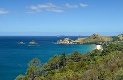 Coromandel Peninsula seashore Stock Photo