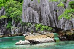 coron海岛菲律宾 免版税图库摄影