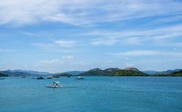 Coron ö, Filippinerna Arkivfoto