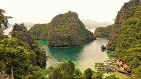 Coron巴拉望岛,菲律宾 免版税库存图片