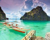 Coron Lagune stockbild