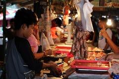 Coron miasteczka rynek Zdjęcie Stock