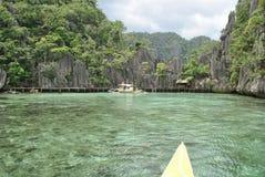 Coron Palawan, Филиппины Стоковые Фото