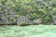Coron Palawan, Filipinas imagen de archivo