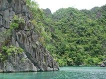 Coron, Palawan, Filippine Luppolizzazione di isola immagini stock libere da diritti