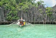 Coron Palawan, Filippinerna Royaltyfri Fotografi
