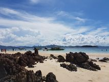 Coron Palawan Filippinerna Arkivfoto