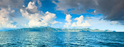 Coron panorama Royalty Free Stock Photography