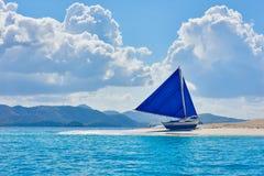 Coron piaska biała plaża Palawan Filipiny Obrazy Stock
