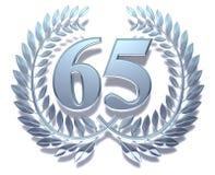 Corona 65 dell'alloro Fotografia Stock Libera da Diritti