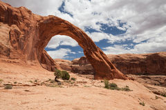 Corona Arch. In Canyonlands Utah royalty free stock image