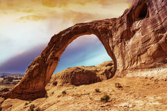Corona Arch in Southern Utah Royalty Free Stock Image