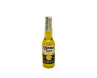 Corona beer. Corona Extra Beer Bottle isolated on white - 335 ML. alcohol 4.5 royalty free stock image