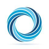 Corona blu Immagine Stock