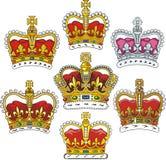 Corona británica Imágenes de archivo libres de regalías