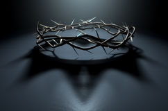 Corona de espinas con la sombra real libre illustration