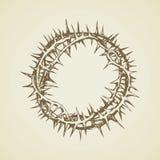 Corona de espinas Gráfico del vector Fotos de archivo libres de regalías