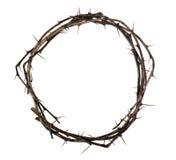 Corona de la madera con las espinas imagen de archivo libre de regalías
