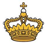 Corona de la reina Fotografía de archivo libre de regalías