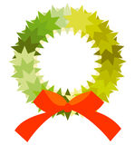 Corona de Navidad Fotos de archivo libres de regalías