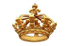 Corona de oro Fotos de archivo