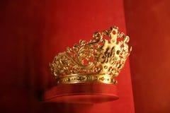 Corona de oro Fotografía de archivo libre de regalías