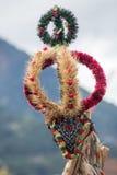 Corona decorativa di autunno Fotografia Stock Libera da Diritti