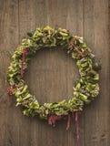 Corona decorativa rustica Fotografie Stock