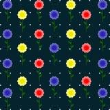 Corona dei fiori tropicali Immagini Stock Libere da Diritti