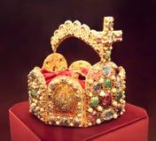Corona del emperador de la monarquía del hapsburg fotos de archivo libres de regalías