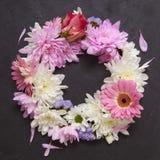 Corona del fiore immagini stock